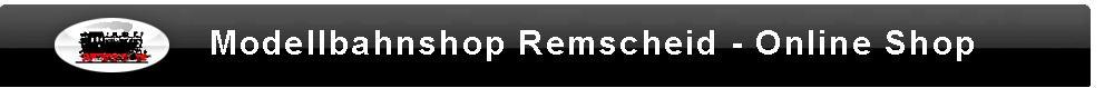 Modellbahnshop Remscheid-Logo